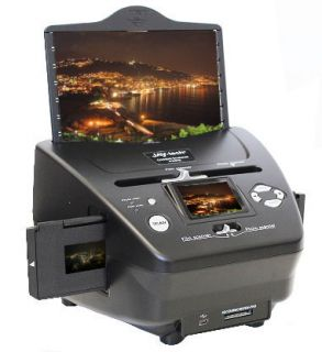 Jay tech PS970 Combo Scanner Film Foto Dia Scanner 5,1 MP CMOS 6,1 cm