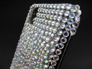 LG Optimus P970 Glitzer Strass Schutz Hülle Hard Cover Case Crystal