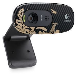 HD Webcam C270 victorian wallpaper, USB   960 000805   NEU/OVP