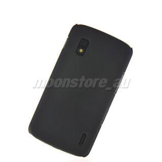 Hard Rubber Schale Case Hülle Tasche Cover für Google LG Nexus 4
