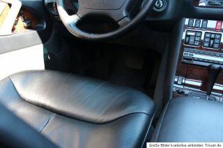 Wunderschöner Mercedes 500 SEL S 500 L W 140 S Klasse mit knapp 14