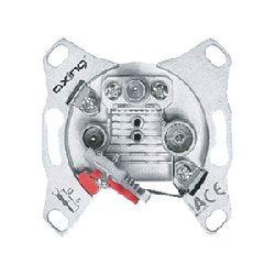 Multimedia Antennensteckdose 14dB 3port CATV/DATA Axing BSD963 14
