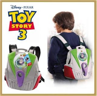Toy Story 3 Buzz Lightyear Rucksack ideal fuer Wii oder PS3 Konsole