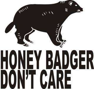 Honey Badger Dont Care Web Video Hit Animal Planet Epic Vintage Funny