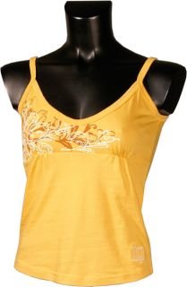 iQ Damen T Shirt Spaghetti Top Rah orange