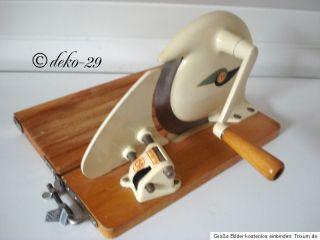 Alte Brotschneidemaschine Brotmaschine EVA Allesschneider 50er 60er
