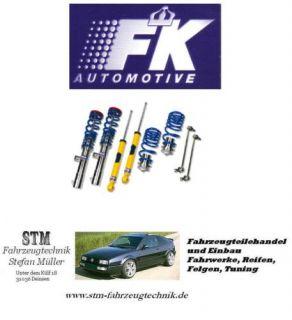 FK Silverline Gewindefahrwerk Audi A6 4F Limo Avant Edelstahl