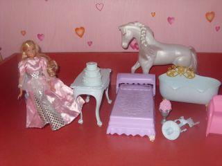 Barbie Cinderella Schloss Sound Prinzessin Pferd