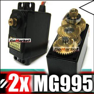 2x DIGI MG995 Metal Gear High Speed & Torque RC Servo