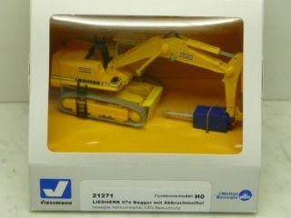 Viessmann 21271 LIEBHERR 974 Bagger mit Abbruchmeissel NEU