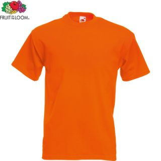 FRUIT OF THE LOOM Herren Classic T Shirt Shirt Kurzarm