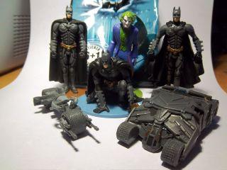 PREZIOSI   BATMAN The Dark Knight   FIGUREN + STICKER   TOPZUSTAND zum