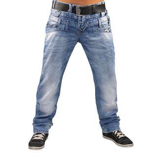 CIPO&BAXX Herren Jeans C 972 Hose Clubwear EYECATCHER Alle Größen 2
