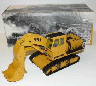 CONRAD 2824 ++ Liebherr Bagger Hydraulikbagger R991 150 OVP ++ #V3
