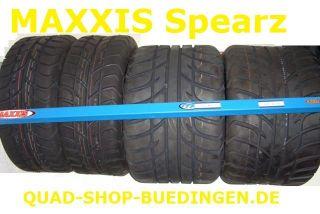 Maxxis Spearz Straßenreifen Quad ATV 165/70 10 30N (21x7 10) & 225/40