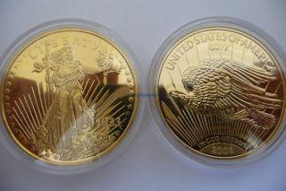 Christopher Columbus Double Eagle America Coin Token