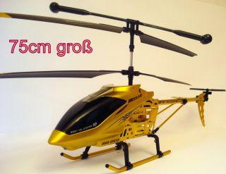 HUBSCHRAUBER SERIES FQ 777 999 75cm Gold mit GYRO mit Lichtkontrol
