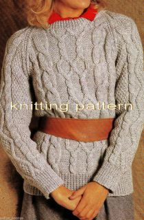Knitting Patterns Modern Jumpers : Modern Knitting Patterns for Women on PopScreen
