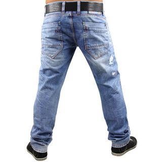 CIPO&BAXX Herren Jeans C 990 Hose Clubwear EYECATCHER Alle Größen 2