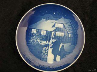 Bing & Gröndahl / Kopenhagen   Sammelteller Jule after 1973