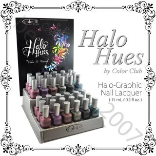 Spring 2013 Color Club Halo Hues Holographic Nail Polish Lacquer 15mL
