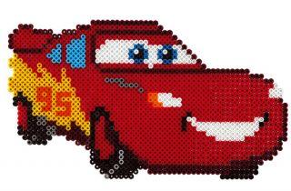 Hama Bügelperlen Disney Cars Lightning McQueen & Sally