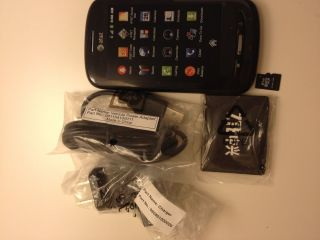 AT&T Z990 Avail Prepaid Android GoPhone, Black ~NEW~
