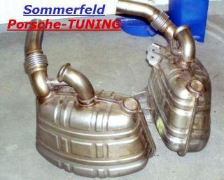 Sport Sound Exhaust Muffler for Porsche 996