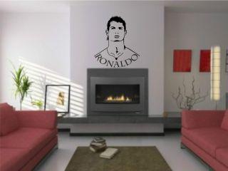 cristiano Ronaldo Wandtattoo real madrid Wandaufkleber Aufkleber z997