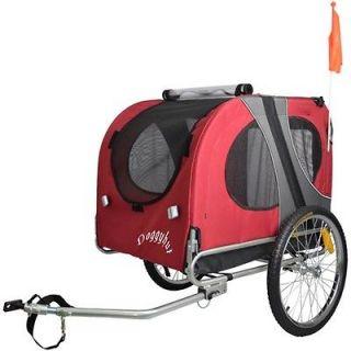 DOGGYHUT Large Pet Dog Trailer Bicycle Trailer Pet Carrier