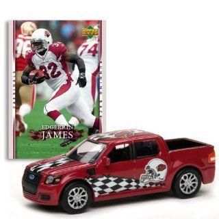 Edgerrin James (Red Car) 2007 Upper Deck Collectibles NFL