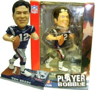 Tom Brady Patriots 2007 Player Bobblehead Figure Sports