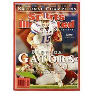 Florida Gators 2008 National Champions Sports Illustrated