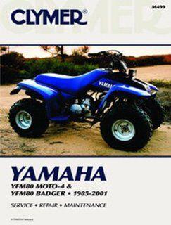1985 2008 YAMAHA YFM80 MOTO 4 SERVICE MANUAL   YAMAHA ATV