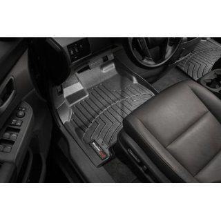 2007 2012 Acura RDX Black WeatherTech Floor Liner (Full Set) [Twist
