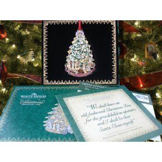 2008 White House Holiday Christmas Tree X Mas Ornament