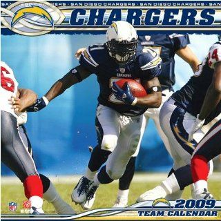 San Diego Chargers 2009 NFL Team Wall Calendar Sports