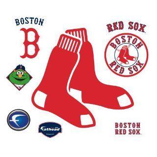 MLB Boston Red Sox 2009 Logo Wall Decal
