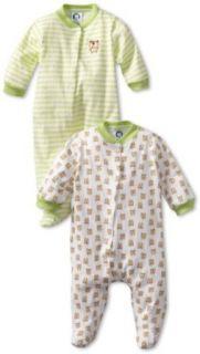 Gerber Unisex Baby Newborn 2 Pack Sleep N Play Snap Front
