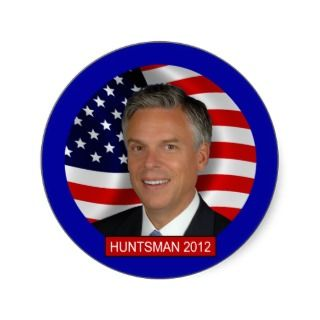 Jon Huntsman 2012 Stickers