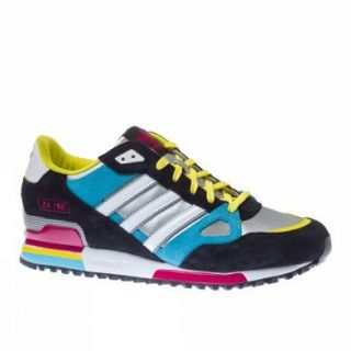 Adidas Trainers Shoes Mens Zx 750 Silver Clothing
