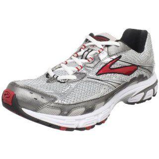Brooks Mens Switch 4 Running Shoe,Tango Red/Metallic