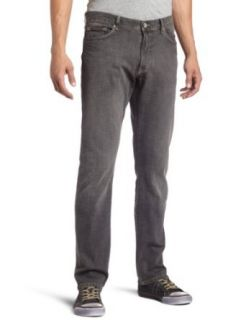 Calvin Klein Mens Greyed Out Black Skinny Jean, Grey Wash