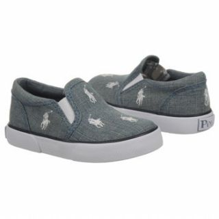 LAUREN Kids Bal Harbour Repeat Tod (Chambray Denim/Wht 4.0 M) Shoes