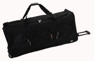 Rockland Luggage 40 Inch Rolling Duffle Bag, Black, X