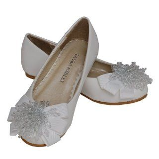 Beaded Pom Easter Flower Girl Little Girl Shoes 3 Laura Ashley Shoes