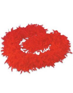 Deluxe Large Red 72 Costume Accessory Feather Boa