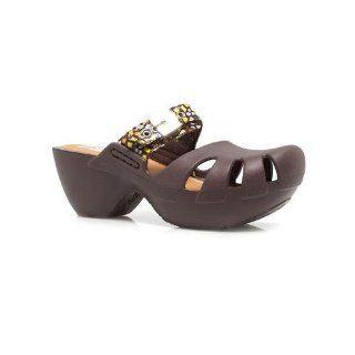 DR. SCHOLLS DANCE BROWN MOSAIC Women Shoes Clogs: Shoes