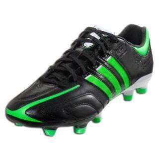 adidas adiPure 11Pro TRX FG   (Black/White/Lab Lime) Shoes