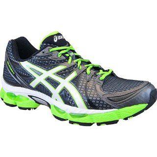 Mens Gel Nimbus 13 Running Shoes Color Black/Green Size 12.5 Shoes